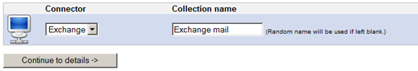 Add exchange collection