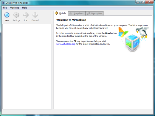 Es on Virtualbox 1