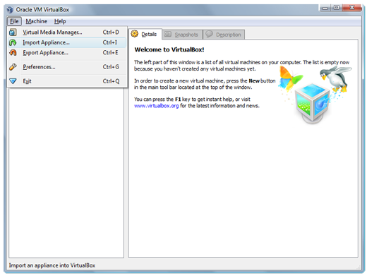 Es on Virtualbox 2